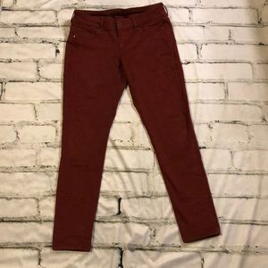 Maurices colored skinny jeans